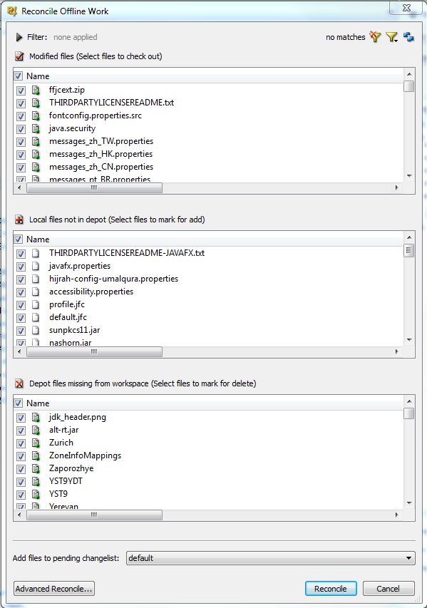 Upgrading the third-party libraries under Perforce source